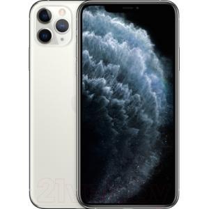 Смартфон Apple iPhone 11 Pro Max 512GB / MWHP2 (серебристый)